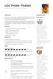 Key Account Manager Resume Samples Visualcv Resume Samples Database