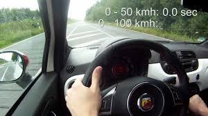 Abarth 500 Esseesse 0-100 kmh Acceleration & Soundcheck Full HD ...