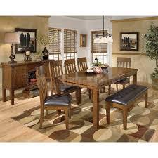 ashley dining room table set. ashley furniture dining room sets ralene set w bench signature design model table