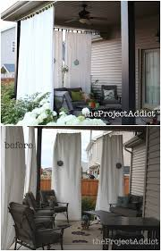 10 diy patio privacy screen projects free plan d fabric curtain patio privacy screen