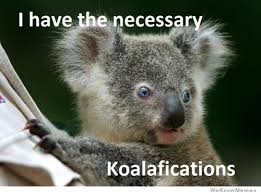 I Have The Necessary Koalafications | WeKnowMemes via Relatably.com