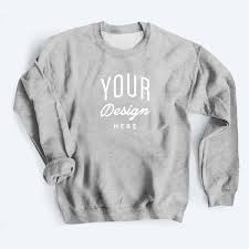 Design My Own Sweatshirt Custom Crewneck Sweatshirt Gildan Sweatshirt Bonfire