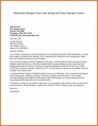 Cover Letter For Product Manager Position Cover Letter For Product Manager Position Magdalene