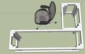 smartness design l shaped desk plans astonishing ideas 1000 ideas about diy l shaped desk on