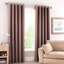 brown blackout curtains. Luna Mocha Blackout Eyelet Curtains Brown E