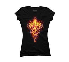 T Shirt Design Phoenix Royal Phoenix Juniors Graphic T Shirt Design By Humans At