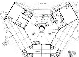 octagon home floor plans elegant dream house bio earth ship style with center plansee usa