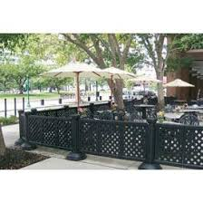 restaurant patio fence.  Restaurant Portable Patio Fence Throughout Restaurant A