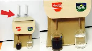 how to make soda fountain machine using syringe at home most easy way