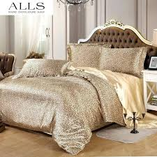 animal print comforter sets summer style leopard print comforter set sunflower zebra print duvet cover silk
