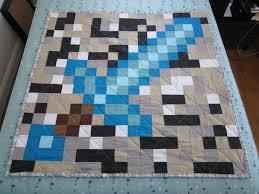 Minecraft quilt   When Natasha Sews & Minecraft quilt Adamdwight.com