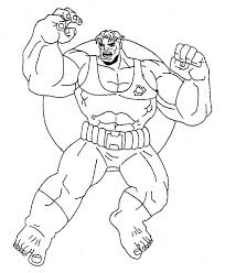 Small Picture Amazing Power of Hulk Coloring Page NetArt