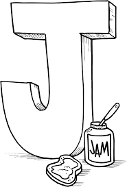 Printable Coloring Pages For Letter J L