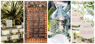 Seating Chart Wedding Seating Chart Ideas For Destination Weddings Weddings By