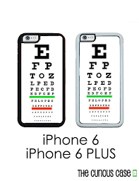 Eye Chart Iphone 6 Iphone 6 Plus Phone Case By