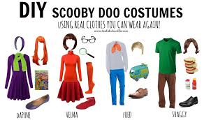 group costume ideas diy scooby doo gang it s a fabulous life