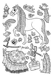 Small Picture Pony paper dolls 9 Pony Kids printables coloring pages