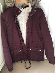 h m faux fur winter coat