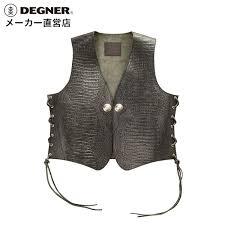 crocodile pattern leather best leather vest black 4wv 13cr