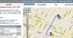 Maps Mania Calculate Taxi Fares With Google Maps