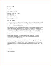 Unique Application Letter For Nursing Student Type Of Resume
