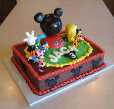 Mickey Mouse Birthday Cakes For Boys 37 Classic Style Mickey