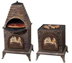 deeco dm 0039 ia c aztec allure cast iron oven chiminea