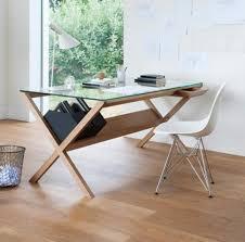 unique office desk home office. Unique Wood Glass Desks For Home Office Desk O