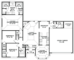 6 bedroom double y house plans 6 bedroom floor plans one story 5 bedroom house plans