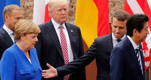 Image result for G7 leaders without trump pictures