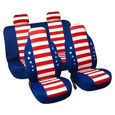 american flag universal car seat cover