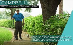Campbell Posture Cane Foldable Walking Cane for <b>Men</b>...