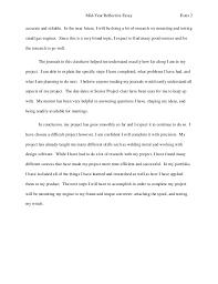 senior year reflection essay end of the year reflection essay slideshare acircmiddot culminating project information woodland public schools acircmiddot high school my senior year