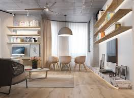 Concrete Wood Floor 3 Inspiring Homes With Concrete Ceilings And Wood Floors