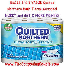 RESET HIGH Value Quilted Northern Printable Coupons ~ Get 2 MORE ... & RESET HIGH Value Quilted Northern Printable Coupons ~ Get 2 MORE Prints NOW! Adamdwight.com