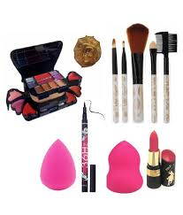 ads 3746 makeup kit 5pcs makeup brush 2pcs blender puff 1sketch pen 3746 face gm pack of 6 ads 3746 makeup kit 5pcs makeup brush 2pcs blender