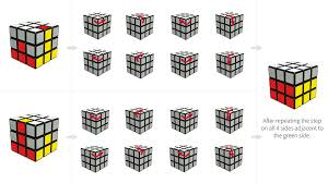 Rubik's Cube Pattern To Solve New How To Solve A Rubik's Cube Pictures For Beginners