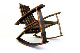 whiskey barrel rocking chair plan chair design idea barrel end table ideas