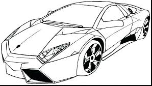 How To Draw A Sports Car Ferrari Step By Step Coloring Pages