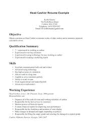 Cashier Resume Description Best Resume Examples For Fast Food Administrativelawjudge