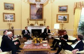 picture of oval office. President Clinton Meets With Congressional Leaders In The Oval Office To Discuss Fiscal Year 1998 Picture Of