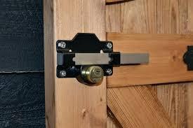 garage door key lock these gate locks feature a key both sides gate locks feature a garage door key lock