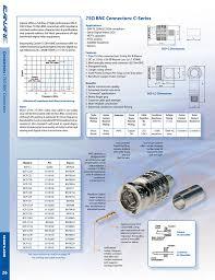 75 Bnc Connectors C Series