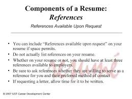 Do You Put References On A Resume Reference List Template Putting