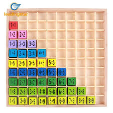 LeadingStar Montessori Mathematics Educational Wooden Teaching ...