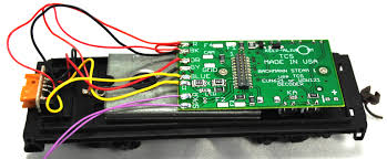 tcs mb and wow decoder installation for ho scale bachmann first de er the harness wires from the factory light board and and er them to the motherboard following the wire colors diagram shown above