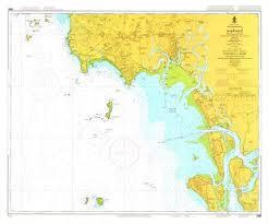 Thailand Nautical Chart 340 Krabi 20 00 Charts And