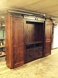 barn door tv cabinet barn door entertainment cabinets grey wash 58 inch barn door tv stand