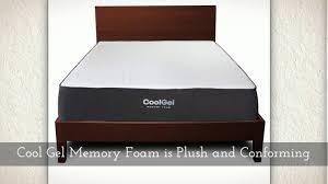 classic brands memory foam mattress. Perfect Brands Classic Brands 105Inch Cool Gel Ventilated Memory Foam Mattress  YouTube Inside L