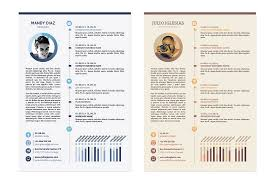 The Best Cv Resume Templates 50 Examples Design Shack For Graphic